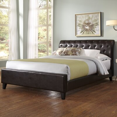 Omnia Platform Bed Size: Full, Finish: Sable