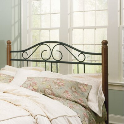 Credit for Weston Metal Headboard Size: King...