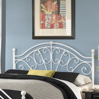 Easy financing Wingate Metal Headboard Size: Full...