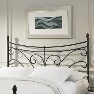 Furniture leasing Bergen Metal Headboard Size: Queen...