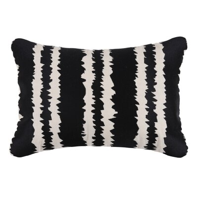 Santorini Linen Throw Pillow Color: Graphite