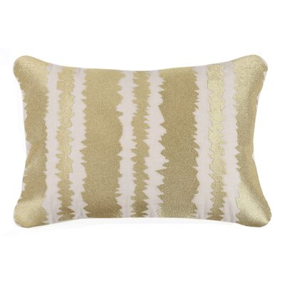 Santorini Linen Throw Pillow Color: Gold
