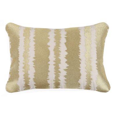 Santorini Linen Throw Pillow Color: Gold