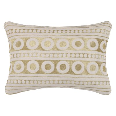 Athens Linen Throw Pillow Color: Gold