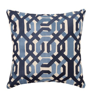 Galway Linen Throw Pillow Color: Blue