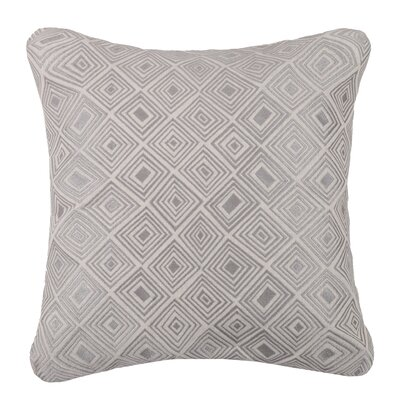 Nomad Linen Throw Pillow Color: Stone