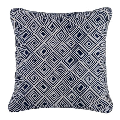 Nomad Linen Throw Pillow Color: Indigo