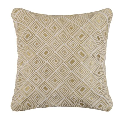 Nomad Linen Throw Pillow Color: Gold