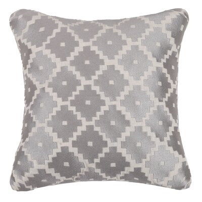 Taos Linen Throw Pillow Color: Stone