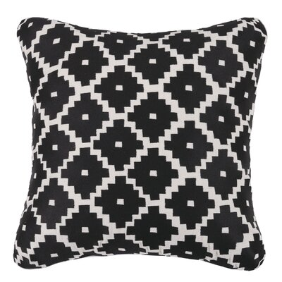 Taos Linen Throw Pillow Color: Graphite