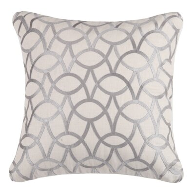 Abbey Linen Throw Pillow Color: Stone