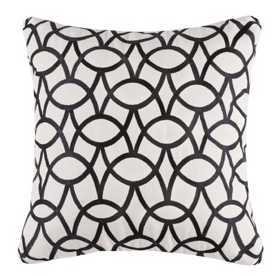Abbey Linen Throw Pillow Color: Graphite