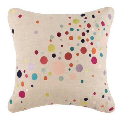 Seltzer Linen Throw Pillow Color: Multi