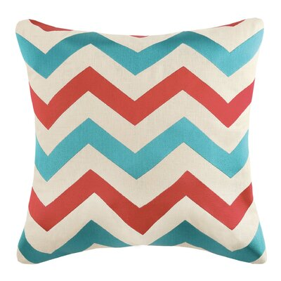 Throw Pillow Color: Bryce Cherry/Turquoise