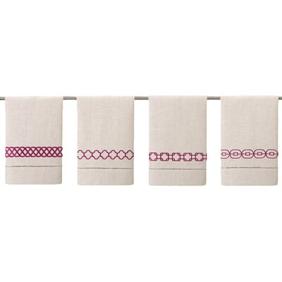 Guest Towels Hand Towel Color: Raspberry