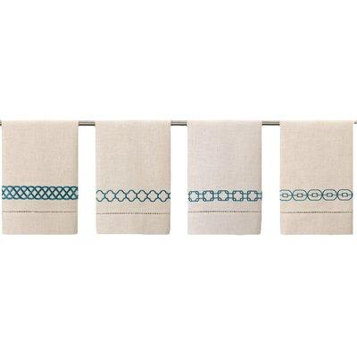 Guest Towels Hand Towel Color: Peacock