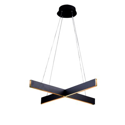 Design Pendant Finish: Black