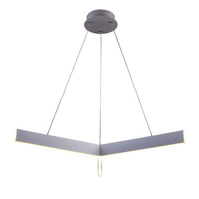 Design Geometric Pendant Finish: Light Gray