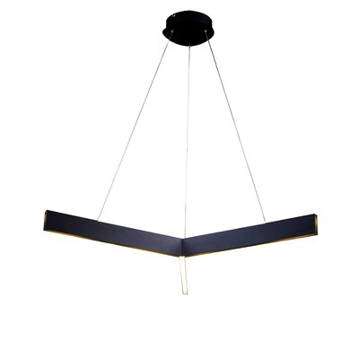 Design Geometric Pendant Finish: Black