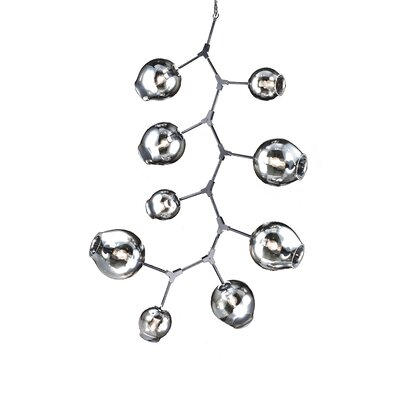 9-Light Sputnik Chandelier
