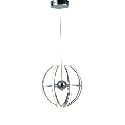 8-Light LED Pendant