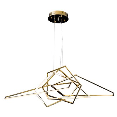 LED Geometric Pendant