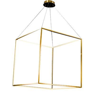 LED Geometric Pendant Size: 35