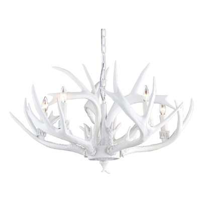 5-Light Candle-Style�Chandelier