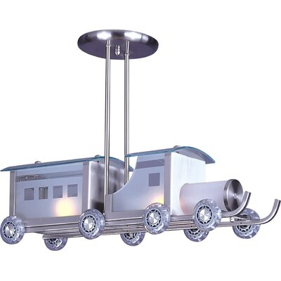 Childrens Train 2-Light Pendant