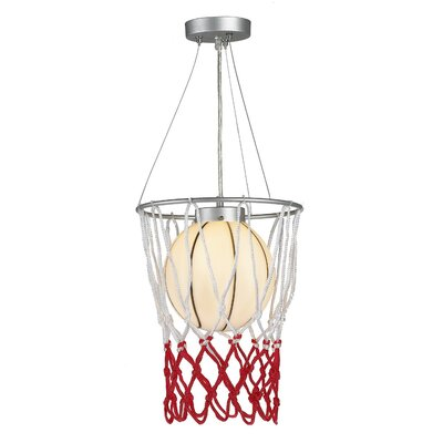 Childrens Basketball 1-Light Pendant