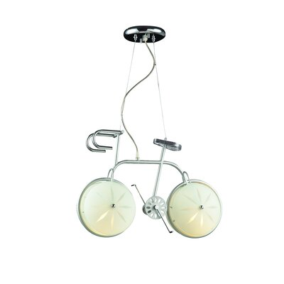 Childrens Bicycle 2-Light Pendant