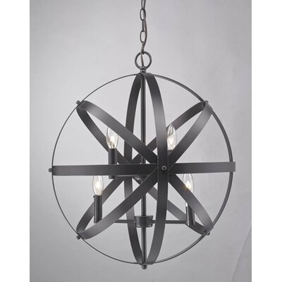 YS Series 4-Light Globe Pendant