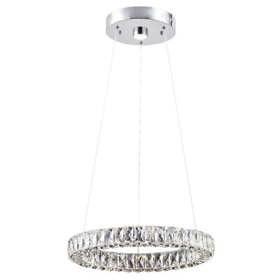Blanche 1-Light LED Mini Pendant
