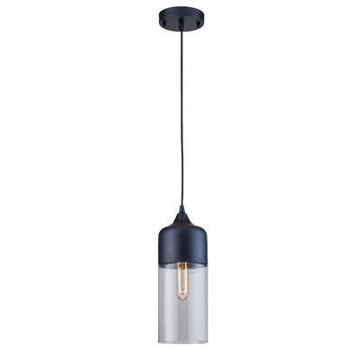 Clogh 1-Light Mini Pendant Finish: Black