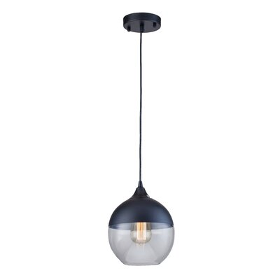Mclachlan 1-Light Mini Pendant Finish: Black