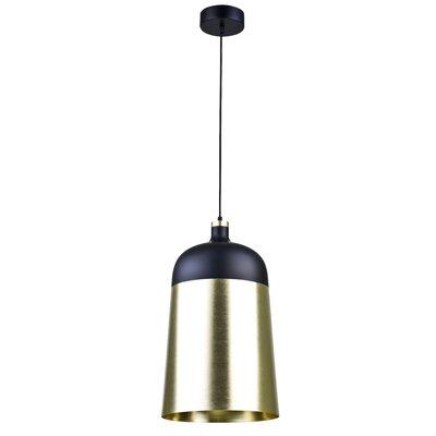 1-Light Inverted Pendant Size: 21.6 H x 13.7 W x 13.7 D