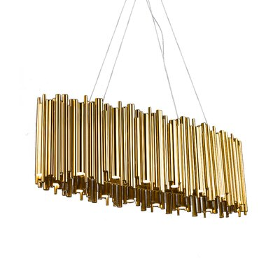 32-Light LED Geometric Pendant