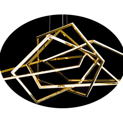 LED Geometric Pendant