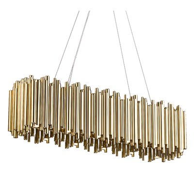 12-Light LED Geometric Pendant