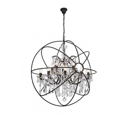 15-Light Crystal Chandelier Finish: Bronze