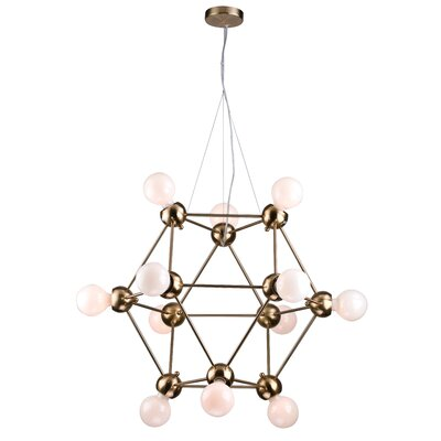12-Light Sputnik Chandelier