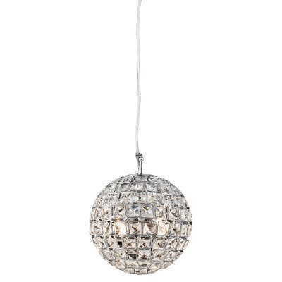 Aguinaldo Crystal Beaded 4-Light Globe Pendant