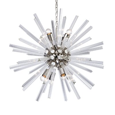 Laursen 8-Light Sputnik Chandelier