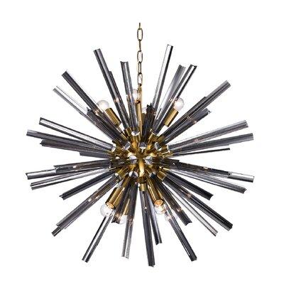 Mitt 8-Light Sputnik Chandelier Finish: Brass