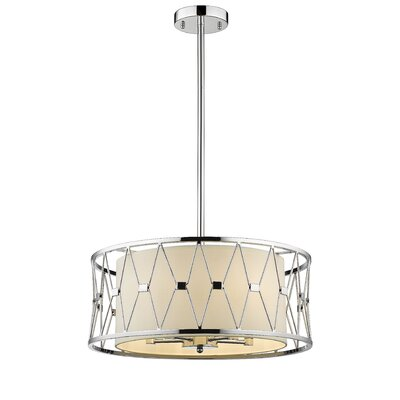 Ahern Cage 5-Light Drum Pendant