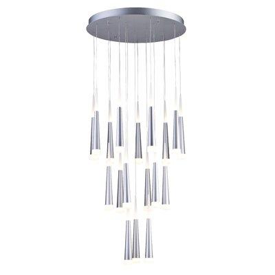 18-Light LED Cluster Pendant