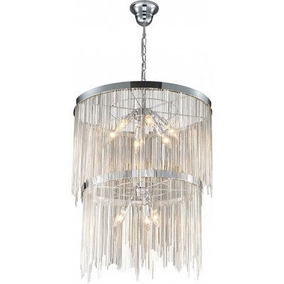 2 Tire 9-Light Empire Chandelier