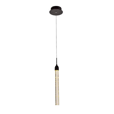 1-Light Mini Pendant Finish: Dark Brown