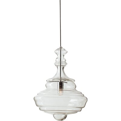 1-Light Schoolhouse Pendant