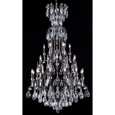25-Light Candle-Style Chandelier